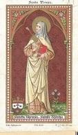 DI/9/ PITTEM  S  TERRESA  PROFES VAN ZR.MARIA-THERESIA =BERTHA CARDOEN  LITHO  + GOUDOPDRUK - Religion & Esotérisme