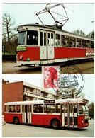 LILLE - TRANSPORTS D'HIER ET D' AUJOURD'HUI - TRAMWAY - AUTOBUS - Tramways