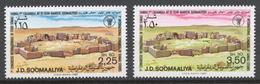 Somalia 1980 Mi# 292-93** INTERNATIONAL CONGRESS OF SOMALIAN STUDIES, MOGADISHU - Somalie (1960-...)