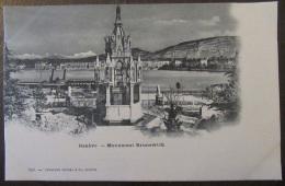 Suisse - Genève - Carte Postale Précurseur - Monument Brunswick - Non-circulée - GE Ginevra