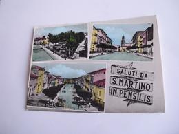 Campobasso - Saluti Da S. Martino In Pensilis + Autobus - Campobasso