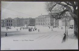 Suisse - Genève - Carte Postale Précurseur - La Place Neuve - Animée - Non-circulée - GE Ginevra