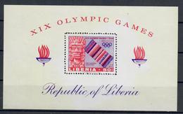 LIBERIA 1968 - OLIMPIADI MEXICO  - FGL - MNH ** - Liberia
