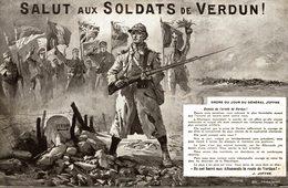SALUT AUX SOLDATS DE VERDUN - Verdun