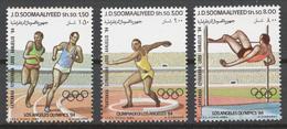 Somalia 1984 Mi# 353-55** OLYMPIC GAMES LOS ANGELES 1984 - Somalie (1960-...)