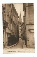 07. JOYEUSE . La Grande Rue Prise De La Peyre - Joyeuse