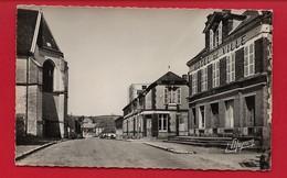 CPSM: Aube - Auxon - La Grande Rue - L'hôtel De Ville - France