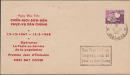 VIETNAM 1967   FDC  MUSIQUE  Réf  67M - Viêt-Nam