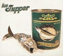 Los TUPPER - Sardinista - CD - ROCK'N'ROLL - Kevin JUNIOR - Dave KUSWORTH - Rock