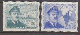 Chile 1967 Shackleton / Prado 2v ** Mnh (40980) - Chili