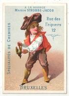 Chromo - A La Source - Chemises - Rue Des Fripiers - Bruxelles - Enfant Et Oiseau Mort - Autres