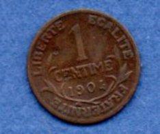 1 Centime 1904 / TTB - A. 1 Centime