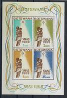 BOTSWANA 1969 - NATALE - FGL - MNH ** - CON GOMMA BICOLORE - Botswana (1966-...)