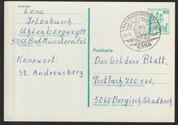 D 1400) HWSt 5358 Bad Münstereifel 1980: F.J. Haass, Heiliger Doktor Von Moskau, Strafvollzug Gefängnis - Celebrità
