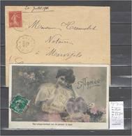 Lettres  Cachet  Convoyeur Riom à Volvic Et Reour - 2 Piéces Dont Une Indice 6 - Marcofilia (sobres)