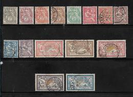 Colonie  Timbre D'Alexandrie  De 1902/1903  N°19 A 33  Oblitérés (5 Neufs *) - Gebraucht