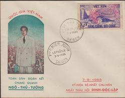 VIETNAM 1955   FDC  PHENIX  Réf  55M - Viêt-Nam