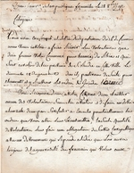 Rév. Oct. 1792 - Volontaires Enrolés Pour L'Armée Du Rhin - Départ Pour  Clermont Pour Y Recevoir Des Ordres - - Historical Documents