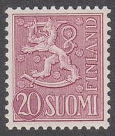 FINLAND  Michel  431  ** MNH - Finlande