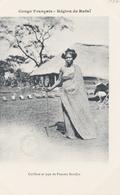 CONGO Région De RAFAÏ  Coiffure Et Type De Femme BANDJIA - Congo Francese - Altri
