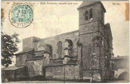 Carte Postale Ancienne De MONPAZIER-Eglise Paroissiale, Ensemble Nord Ouest - Autres Communes