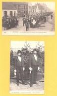 """Cartes Postales En Noir & Blanc """" Les Charitables """" à BETHUNE - Bethune"""