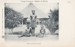 CONGO Région De SEMIO  Types De Girons à ZANDE - Congo Francese - Altri
