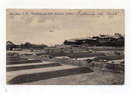 COSTA RICA - S. Josè - Beneficio De Cafè - Viaggiata Nel 1920 - (FDC12589) - Costa Rica