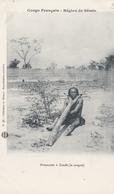 CONGO  Région De SEMIO  Prisonnier à ZANDE ( La Cangue ) - Congo Francese - Altri
