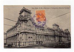 COSTA RICA - S. Josè - Correos Y Telegrafos - Viaggiata Nel 1920 - (FDC12590) - Costa Rica