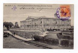 COSTA RICA - S. Josè - Escuela Buenaventura Corrales - Viaggiata Nel 1920 - (FDC12591) - Costa Rica