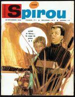 """SPIROU N° 1498 -  Année 1966 - Couverture """" MICHEL Et THIERRY """" De PIROTON Et JADOUL. - Spirou Magazine"""