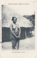 CONGO  Région De SEMIO  Tatouages De Femme à ZANDE - Congo Francese - Altri