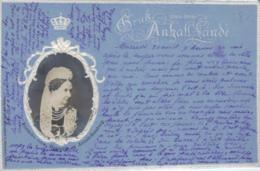 Friedrike V. Anhalt...  Alte Karte    (ka6487  ) Siehe Scan - Familles Royales