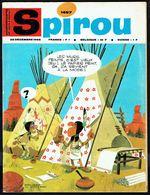 "SPIROU N° 1497 -  Année 1966 - Couverture "" WHAMOKA Et WHIKILOWAT "" De DEVOS, SALVE Et JAMIC. - Spirou Magazine"