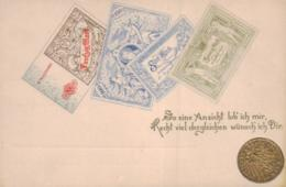 Münzen / Geld... -scheine - Schöne Alte Karte ....   (ka5243  ) Siehe Scan - Münzen (Abb.)