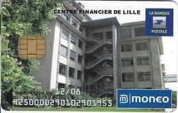 MONEO CARTE A PUCE CENTRE FINANCIER LA POSTE LILLE 59 NORD ETAT LUXE  POUR COLLECTIONNEUR - France