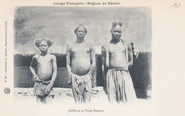 CONGO  Région De SEMIO  Coiffures Et Types BASSIRIS - Congo Francese - Altri