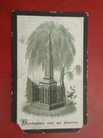 Julia Clarys Geboren Te Caaskerke 1843 En Overleden Te Aalst  1884  (2scans) - Religion & Esotérisme