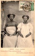 GABON (Congo Français) - OGOOUE Femmes Lambaréné - Cachet LIbreville Sur Timbre Guerrier Pahouin 5 C 1910 - Rare - - Gabon