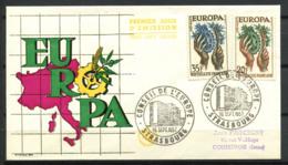 CEPT 1957 Mi. 1157-1158 Primo Giorno 100% Francia - Europa-CEPT