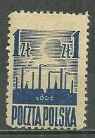 POLAND MNH ** 440 Libération De Lodz - 1944-.... Republik