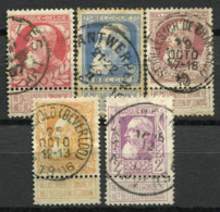 Belgio 1905 Usato 60% Re Leopoldo II - 1883 Leopold II