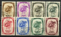 Belgio 1938 Mi. 489-496 Usato 80% Principe Alberto - Belgio