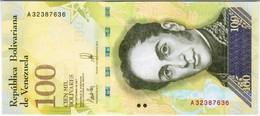 Venezuela  - Pick 100 - 100.000 (100000) Bolivares 2017 - Unc - Venezuela