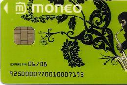 MONEO CARTE A PUCE FESTIVAL JAZZ AOUT 2005  LE PALLET 44 LOIRE ATLANTIQUE ETAT LUXE  POUR COLLECTIONNEUR - France
