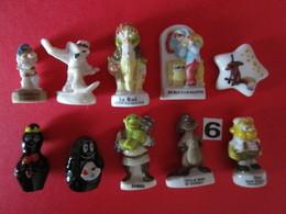 N° 6 - Fèves De Collection 10 FÈVES Figurines Personnage Divers - Envoi + Frais - Personnages