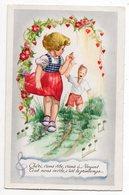 Illustrateur  ???  --  Enfants ---chanson --  ( Coeurs ) - Illustrateurs & Photographes