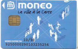 MONEO CARTE A PUCE LA VILLE A LA CARTE  ETAT LUXE  POUR COLLECTIONNEUR - France