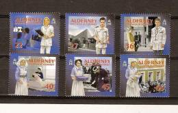 Aurigny Alderney 2001 Yvertn° 168-73*** MNH  Cote 12,50 Euro - Alderney